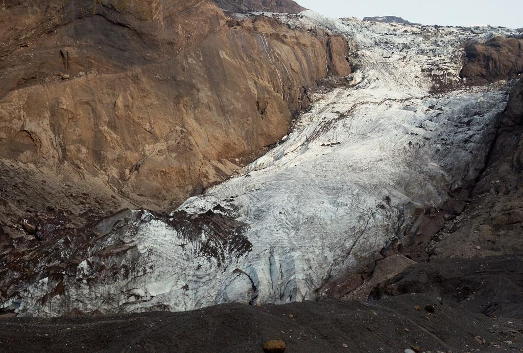 Glacier Crawling